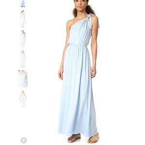 Rachel Pally Pascall Maxi Dress in Light Blue